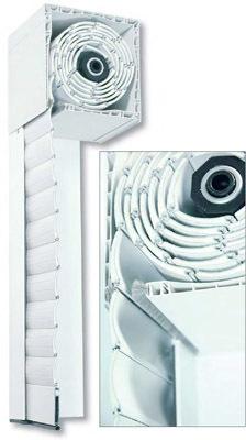 Compacto PVC con lama de Aluminio